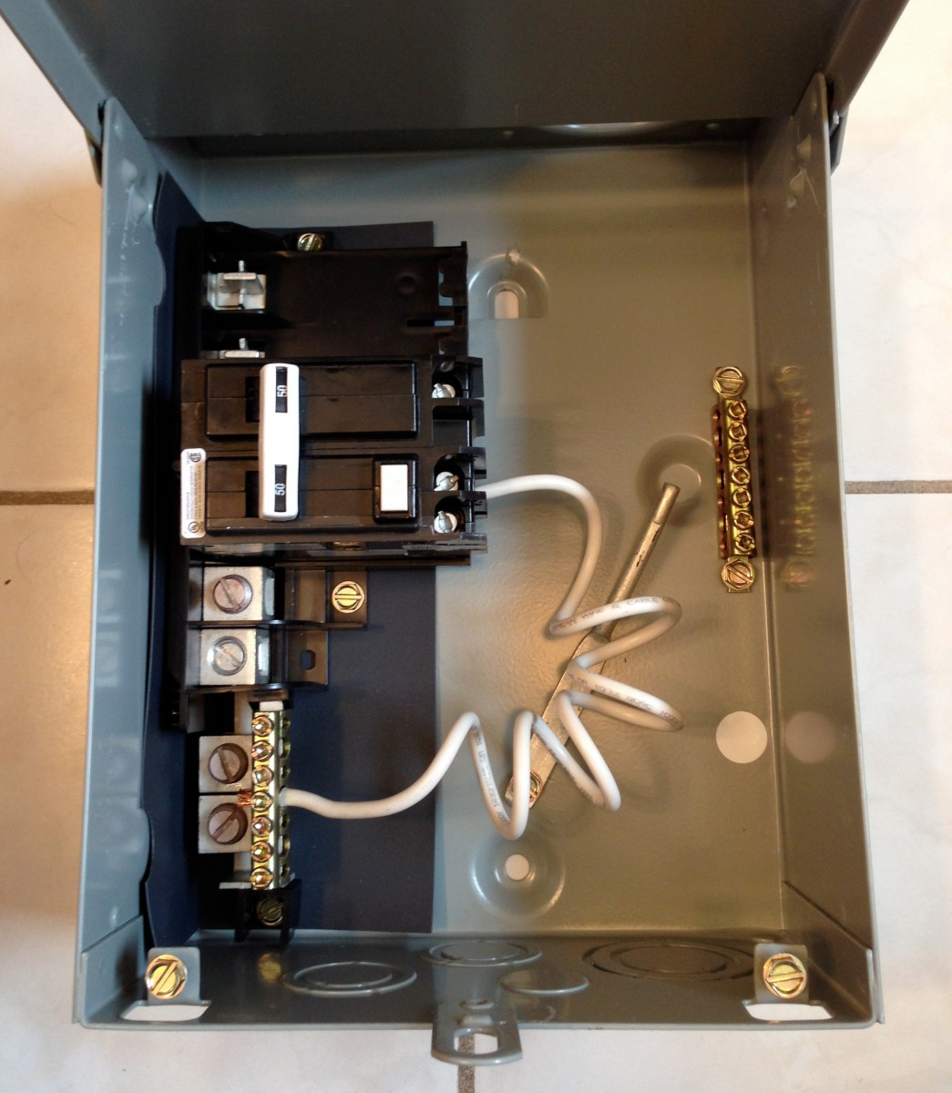 Electrical How To Wire A 240v Disconnect Panel For Spa That Does Not