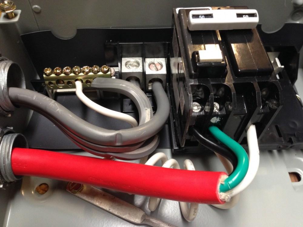 medium resolution of spa disconnect panel internal wiring