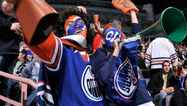Happy Oilers Fans