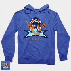 Talbot Blue heather hoodie