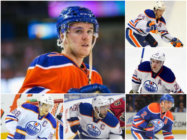 The New Oilers Core