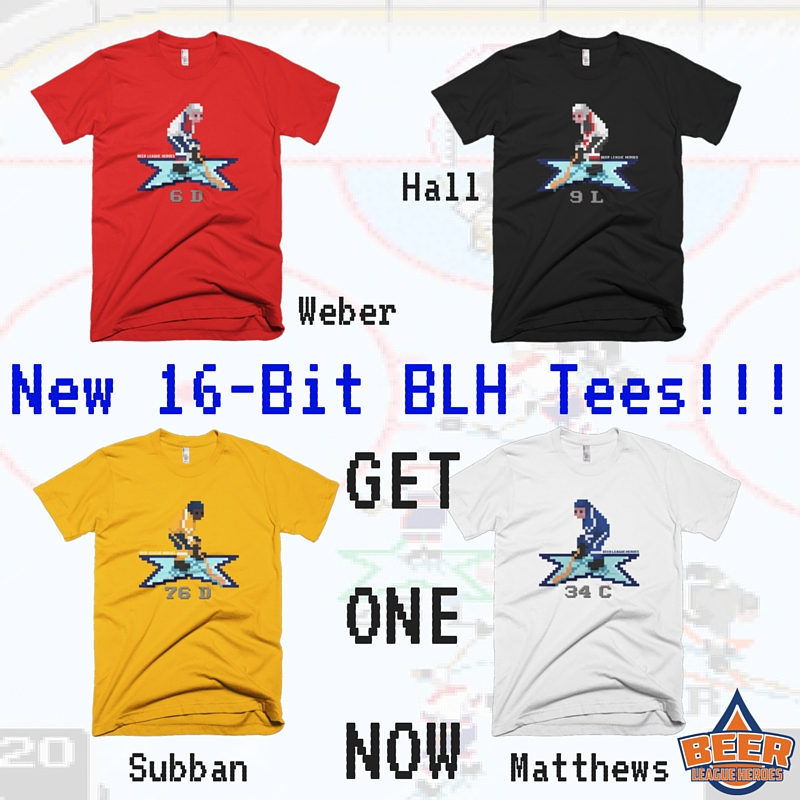 New NHL 94 Tees!!!
