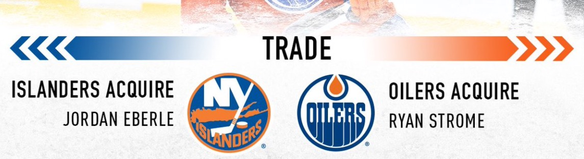 Making Sense of the Ryan Strome for Jordan Eberle Trade by Andrew Taylor (@drewtaylor1978)