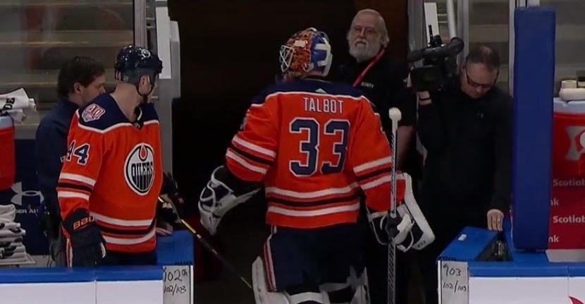 separation shoes b2029 cf34c Edmonton Oilers Rumor: Cam Talbot Demands Out - Beer League ...