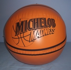 Michelob Madness Basketball Beer Bar Inflatable Blow Up