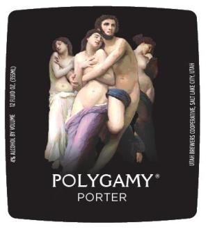 Wasatch Polygamy Porter Label