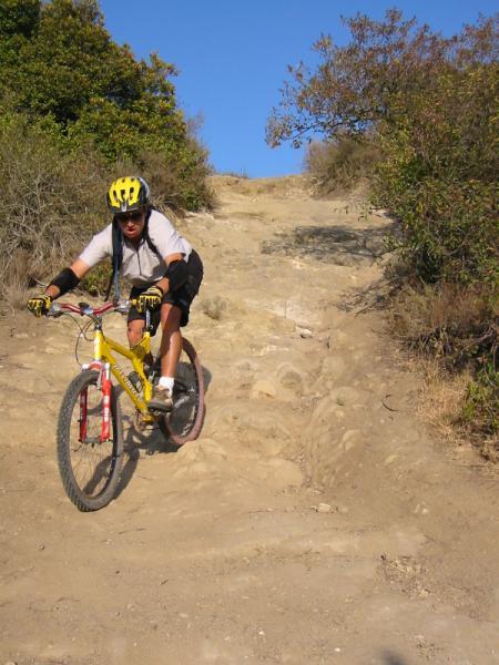 Erik stairsteps trail