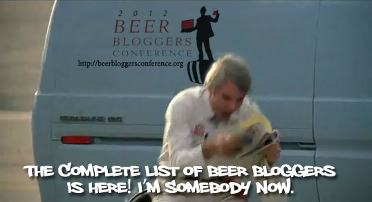 Complete List of Beer Bloggers