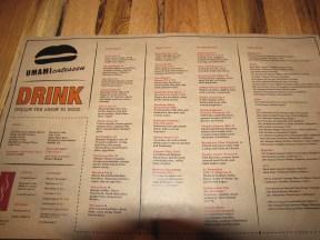 Umami-catessen drinks