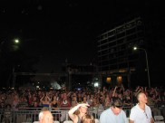 The crowd showed up for Blondie