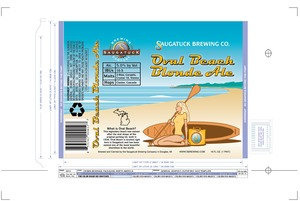 Saugatuck Brewing Company Oval Beach Blonde  Bottle  Can