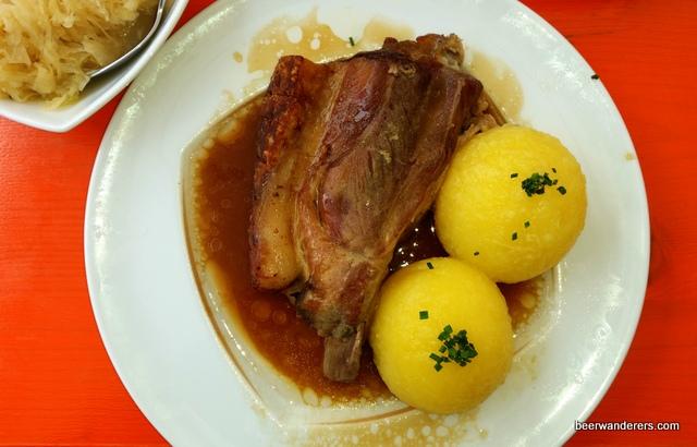 pork with dumplings