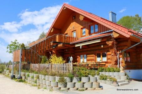 log cabin brewery