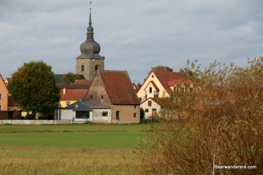 church in small town