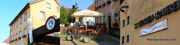 buttenheim st. georgen bräu banner