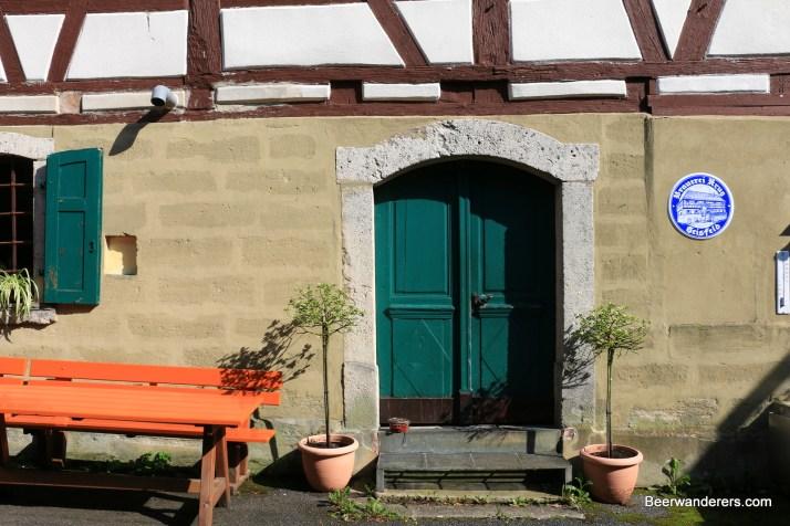 brewery courtyard