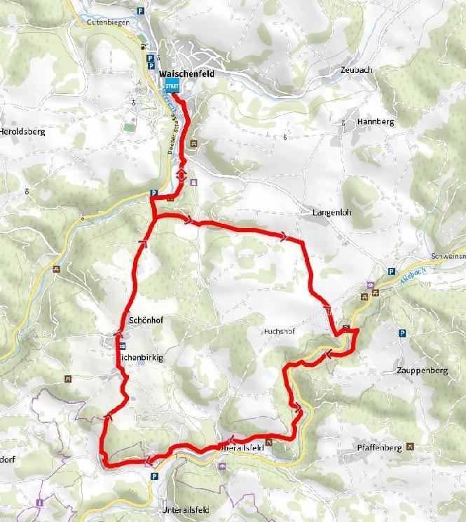 waischenfeld trail map