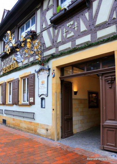 pub entrance