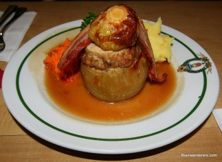 stuffed onion with bacon