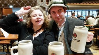 couple at beer festival