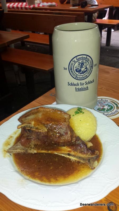 forchheim annafest food