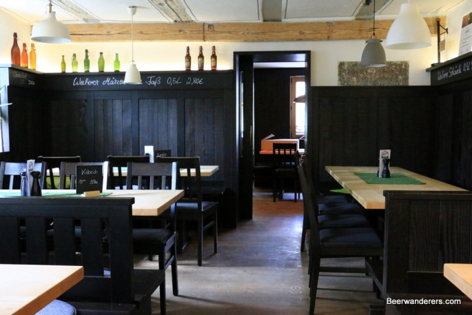 pub interior with lots of dark wood