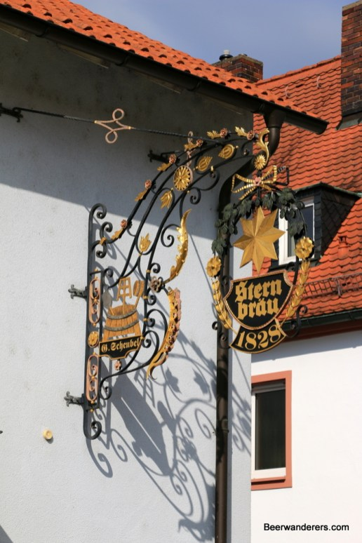 old brewry sign