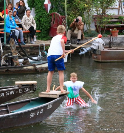 jousting from boat