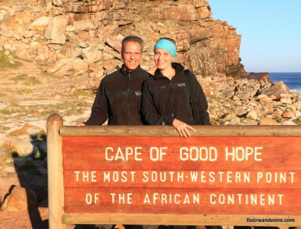 couple sign cape of good hope