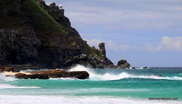 waves white sand beach