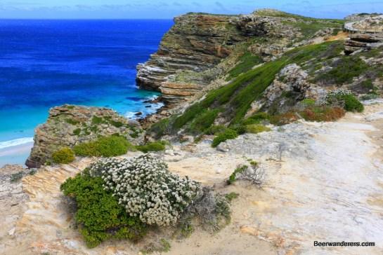 beach view from cliffs