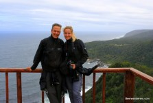 couple on platform viewpoint