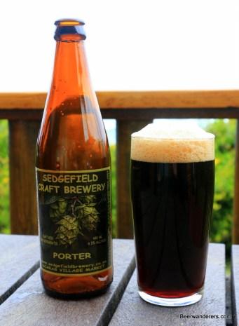 sedgefield porter in bottle