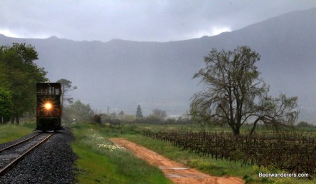tram misty mountains