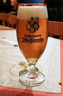 craft beer in glass