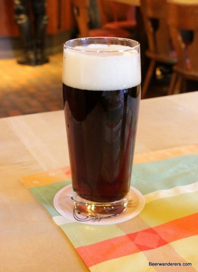 dark beer in glass