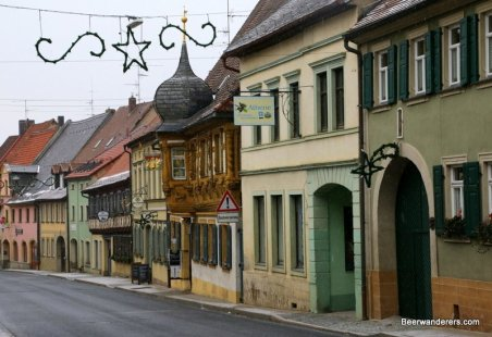 small town street in Franconia