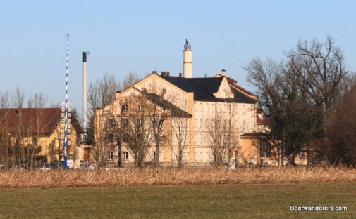 brewery tower of Maxlrain