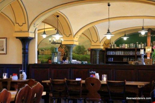 vaulted ceiling pub