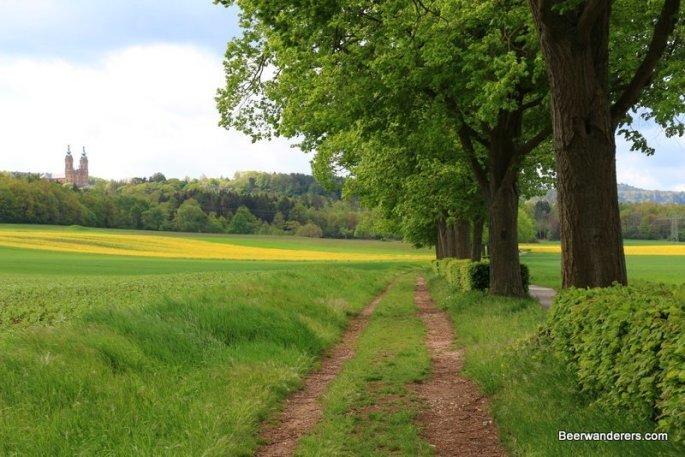 route to monastery