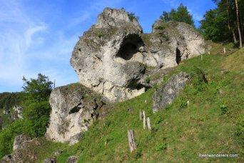 rocky area