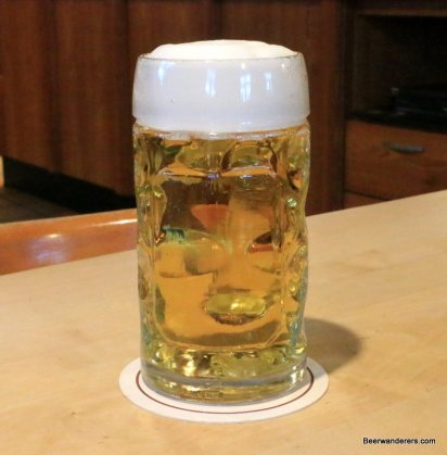yellow beer in mug