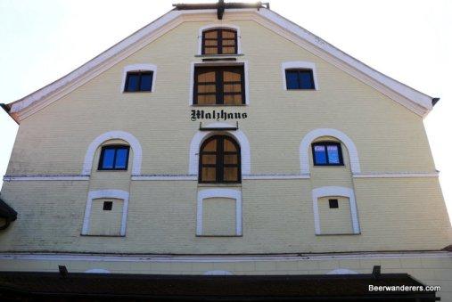 malt house exterior
