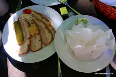 cold pork with white raddish