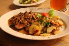 meat with potatoes