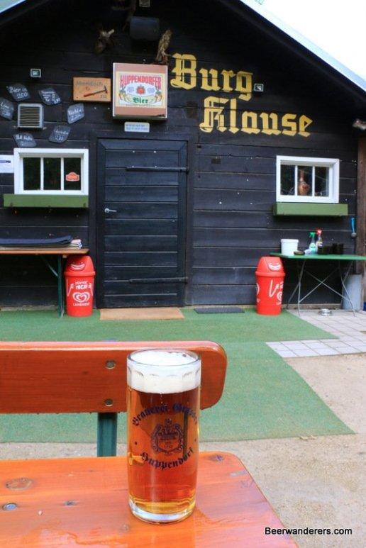 beer at hut