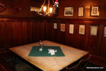 wooden pub