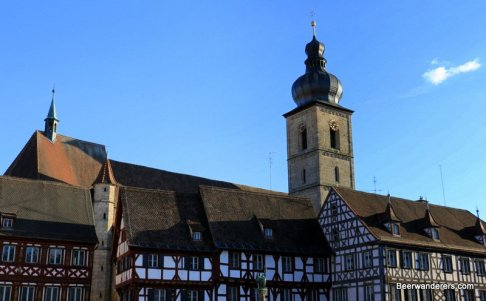 forchheim half-timbered buildings