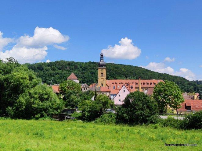 monastery and church