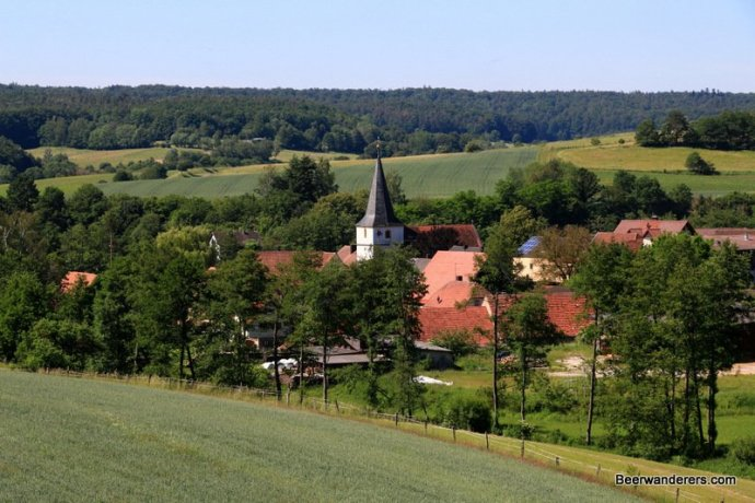 chruch in countryside